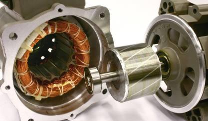 电动机结构图